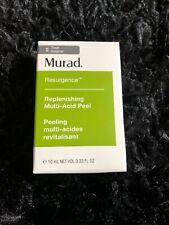 New Murad Resurgence Replenishing Multi Acid Peel .33 fl oz / 10 mL  NIB