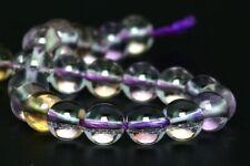 "5MM Genuine Natural Ametrine Gemstone Beads Grade AAA Round Loose Beads 4"""