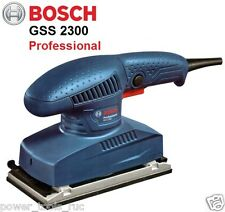 BOSCH GSS 2300 Orbital Sander Machine for Sanding on Wood