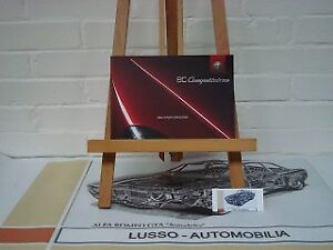 Alfa Romeo 8C Competizione owners manual