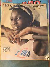 SUNDAY TIMES 18 July 1976 Olympics Brendan Foster Vintage ads Cuba