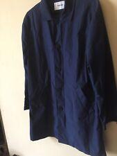 Farah Lightweight Mac Coat Navy Blue Large