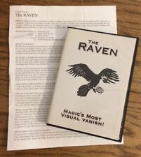 Chazpro,com -The Raven-Magic's Most Visual Vanish Dvd + Written Instructions