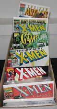 Copper-Modern X-MEN TITLES LONG BOX LOT 277pc FN-NM New Mutants Gambit Classic