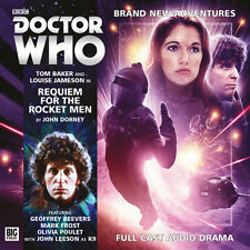 DOCTOR WHO Big Finish CD Tom Baker 4th Doctor #4.3 REQUIEM FOR THE ROCKET MEN
