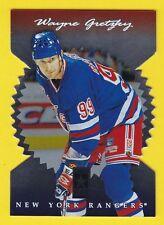 1996-97 Donruss Elite #10 WAYNE GRETZKY DIE CUT STARS (HOF) Rangers