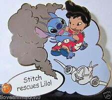 Disney Auctions Story of Lilo & Stitch  Rescue #11 LE 100 Pin