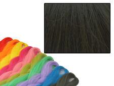 CYBERLOXSHOP PHANTASIA KANEKALON JUMBO BRAID BURNT CHOCOLATE BROWN HAIR DREADS