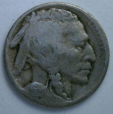 1915 D Buffalo Nickel 5 cent US United States Coin VG