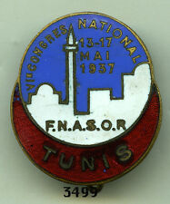 Insigne FNASOR. / TUNIS - 1937