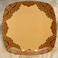 222 Fifth SPICE ROAD 11 Inch Square Dinner Plates Multiples Available