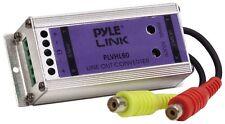 NEW Pyle PLVHL60 2 Channel Speaker to RCA Converter