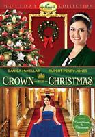CROWN FOR CHRISTMAS New Sealed DVD Hallmark Channel Danica McKellar