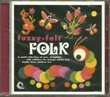 Original 2006 Trunk Records 15 Track CD Album V/A Fuzzy-Felt Folk  MINT / SEALED