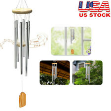 Amazing Grace Extra Large Wind Chimes 6 Metal Tubes Outdoor Home Garden Decor