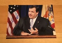 Chris Christie Governor New Jersey Autograph Signed 8x10 Photo 2016 President #1