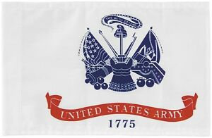 """6""""x9"""" 6x9 US Army 1775 Nylon Boat Motorcycle Car Double Sided Flag Banner Sleeve"""
