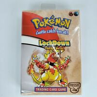 New Pokemon LockDown Theme Deck Trading Card Game Wizards Of The Coast Fossil