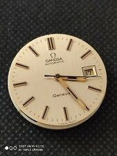 Vintage Omega Geneve 1481 gents watch movement, with dial . Working