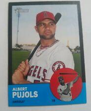 2012 Topps Heritage Black Albert Pujols #HP8 Anaheim Angels