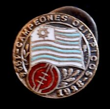 Original Commemorative Uruguay 1924 & 1928 First Olympic World Cup Soccer Pin