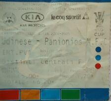TICKET UEFA Cup 2004/05 Udinese Calcio - Panionios Athen