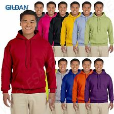Gildan Mens Hoodie Heavy Blend Pullover Hooded Sweatshirt S-5XL 18500