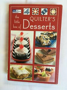 The little Box of Quilter's Desserts, Patchwork, Englisch, Dessert