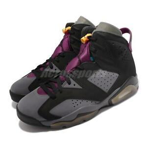 Nike Air Jordan 6 Retro AJ6 Bordeaux Black Grey Men Basketball Shoes CT8529-063