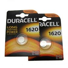 2x Duracell CR1620 3V Lithium Button Battery Coin Cell DL/CR/ECR 1620 Exp. 2026