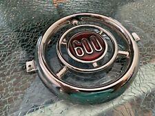 Fiat 600 Front Emblem Abarth Rare