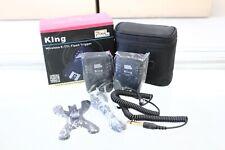 Pixel King Flash Trigger set for Canon E-TTL II, E-TTL                    (PKC5)
