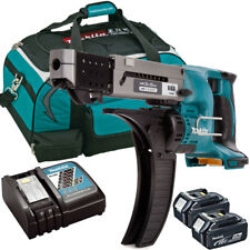 Makita DFR550Z 18V LXT Screwdriver With 2 x 5.0Ah BL1850, DC18RC & LXT400 Bag