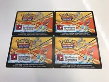 Pokemon TCG Keldeo Online Promo Code Card FROM 2013 Spring Tin 4x Codes