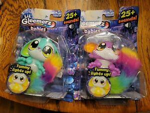 Set of 2. LIL' GLEEMERZ  25+ SOUNDS TUMMY LIGHTS UP BRAND NEW