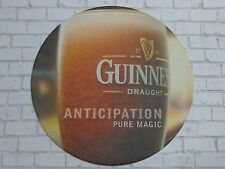 Beer Coaster: GUINNESS Brewery Draught Stout ~ Anticipation Pure Magic ~ IRELAND