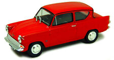 FORD ANGLIA 105E Mk1 in Red - 1:43 Diecast Classic Car Model by Cararama - New