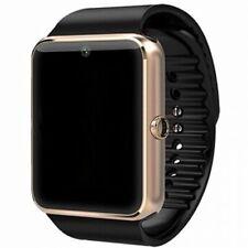 Smartwatch Armband Uhr Bluetooth + Kamera SIM Handy für iOS iPhone Android GT08