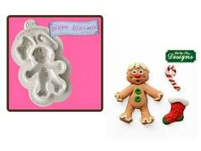 Katy Sue Designs Gingerbread Man Sugar Buttons Mould    FAST DESPATCH