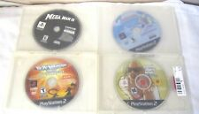 4--PLAYSTATION 2 VIDEO GAME CARTRIDGES--MEGA MAN 8, GRAND THEFT AUTO SAN ANDREAS