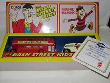 CORGI - THE BASH STREET KIDS - MORRIS J VAN & AEC BUS Mint/Box