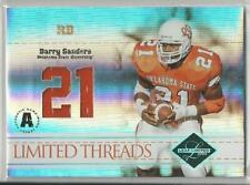2004 LEAF LIMITED THREADS BARRY SANDERS JERSEY 10/21!!
