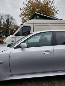 BMW 5 SERIES E60 525D M SPORT 2006 BONNET HINGE. WE ARE BREAKING FULL CAR.