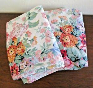 Ralph Lauren Allison Floral Queen Sheet Set Fitted & Flat - Cottage Rose