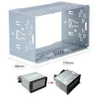 Metall 2Din Autoradio-Rahmen Audio Stereo DVD Player Gestell Halterung 178*110mm