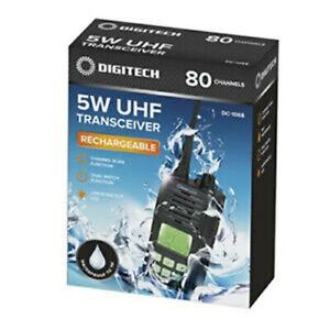 DIGITECH DC 1068 - 5 Watt Full Power UHF Radio Transceiver HAND HELD