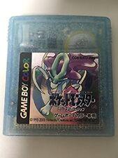 Nintendo Gameboy Color Pocket Monster Crystal Pokemon Japan GBC