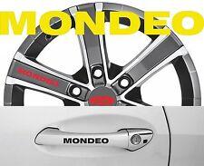 4 x Türgriff- Felgen Aufkleber Ford Mondeo 001 #1414