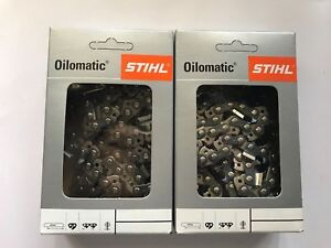 "New 20"" 20 inch GENUINE STIHL Chainsaw Chain 76DL .325"" Pitch .063 72DL 3/8 063"