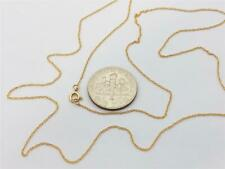 """14K Solid Yellow Gold Ladies Very Dainty Thin ROPE Chain Necklace 16"""" 18"""" 20"""""""